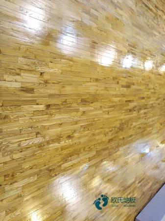 黑龙江硬木企口实木运动地板代理商