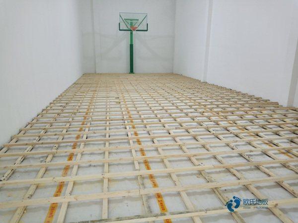拼装体育运动地板结构