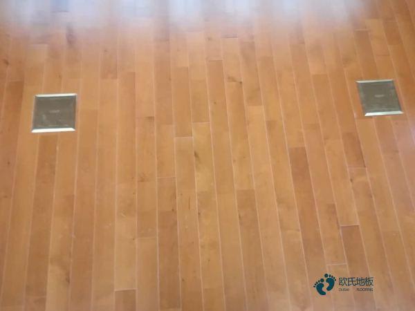 学校每平米价格篮球运动木地板