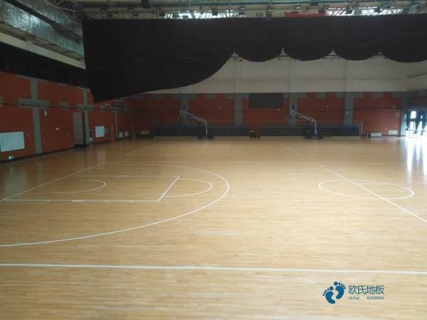 运动篮球木地板哪家性价比高2
