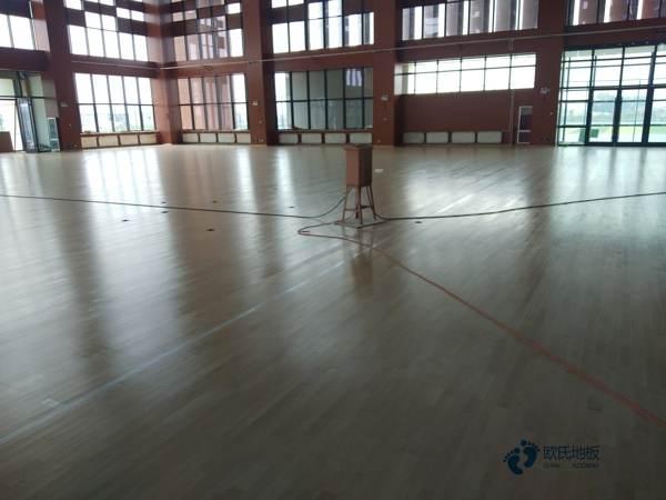 天津舞台运动地板维修
