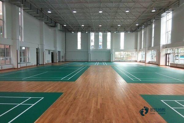 柞木篮球地板生产厂家