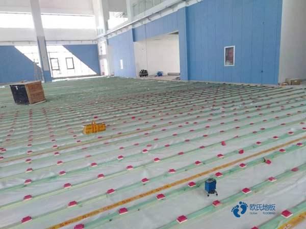 西藏专业体育木地板报价