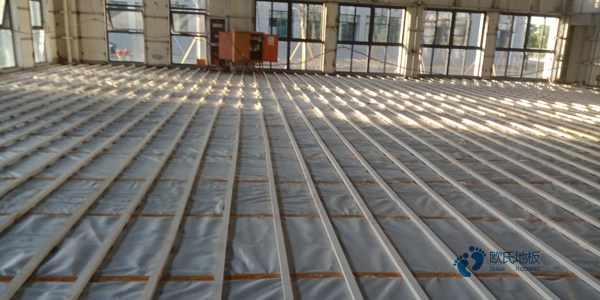 学校实木运动地板