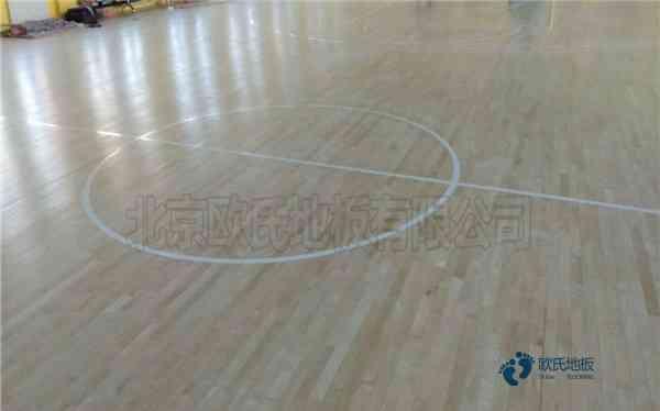 西藏柞木篮球木地板价格表