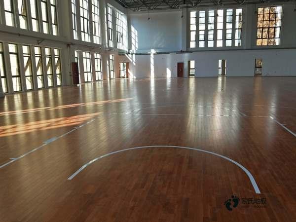 体育木地板便宜的多少钱一平方米1