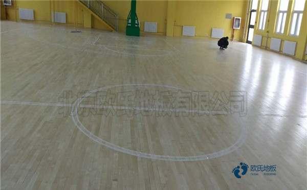 专用舞蹈房木地板怎么安装