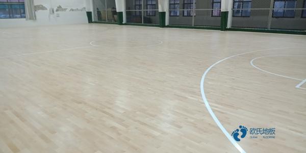 训练馆体育木地板价格是多少