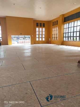 室内运动木地板怎么安装
