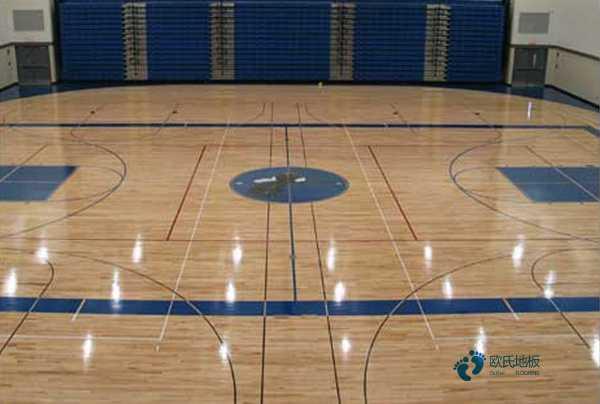 枫木体育场馆木地板翻新