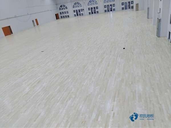 板式龙骨篮球场木地板安装公司