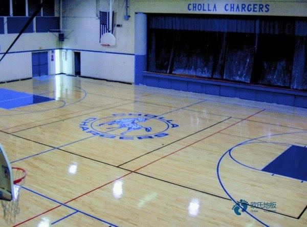 板式龙骨篮球运动地板安装公司