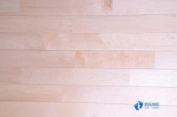 20厚实木运动地板安装工艺