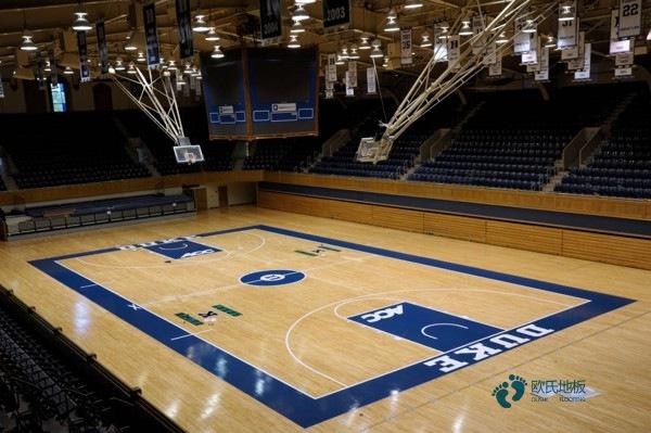 新疆硬木企口体育场地板怎么安装