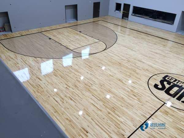 大型篮球场地板多少钱一平米