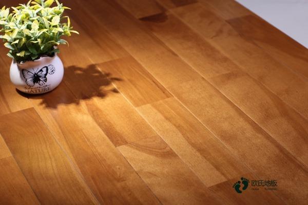 枫桦木体育篮球木地板保养方法