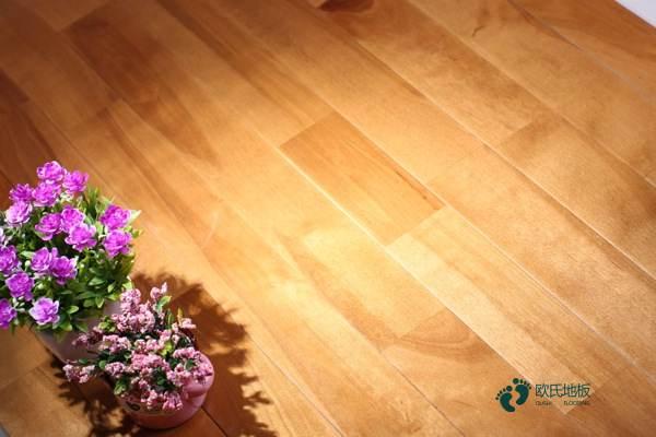 常见的体育场馆木地板怎么维修