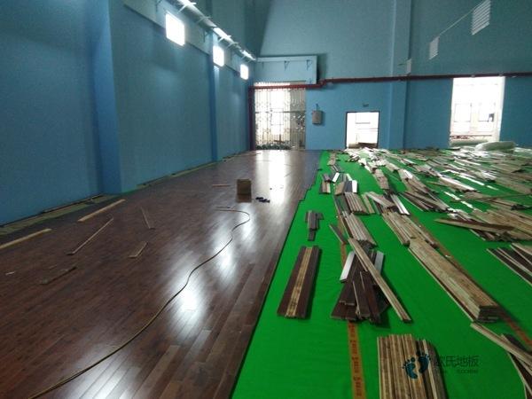 枫桦木运动体育木地板环保吗