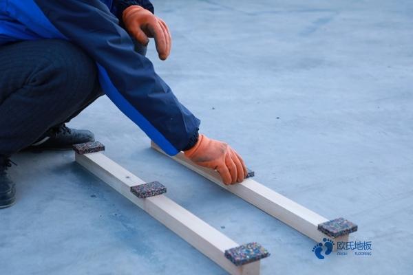 实木体育木地板用什么材料1