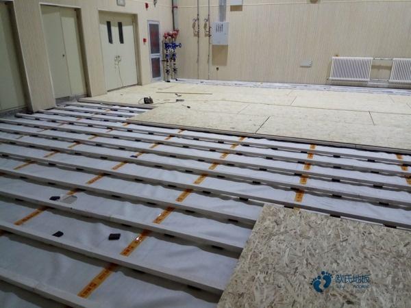 江苏体育木地板每平米价格