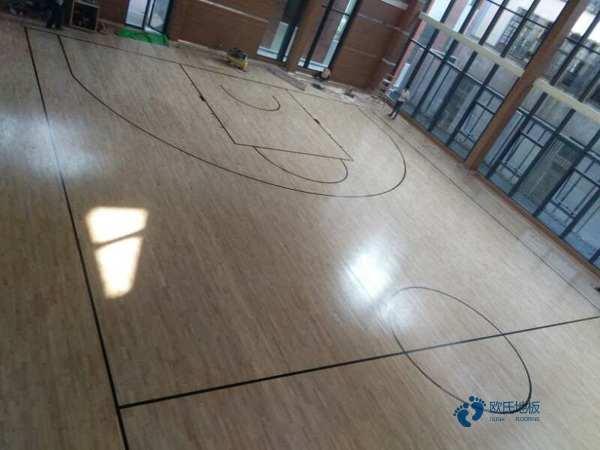 楓樺木運動籃球木地板保養
