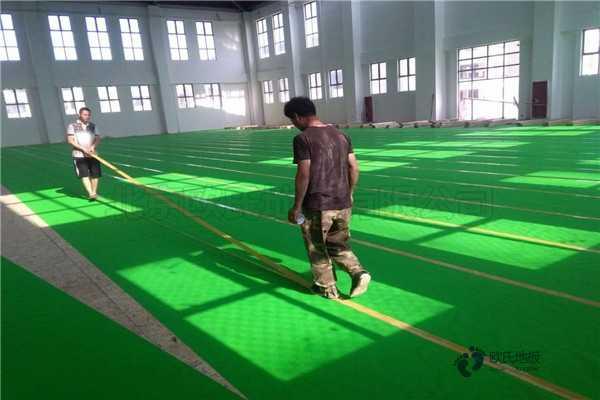 枫木体育馆木地板怎么维修?
