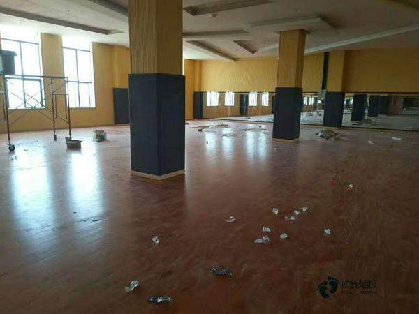 安装工艺运动木地板枫桦木