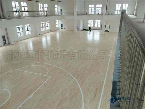 企口篮球馆地板怎么维修