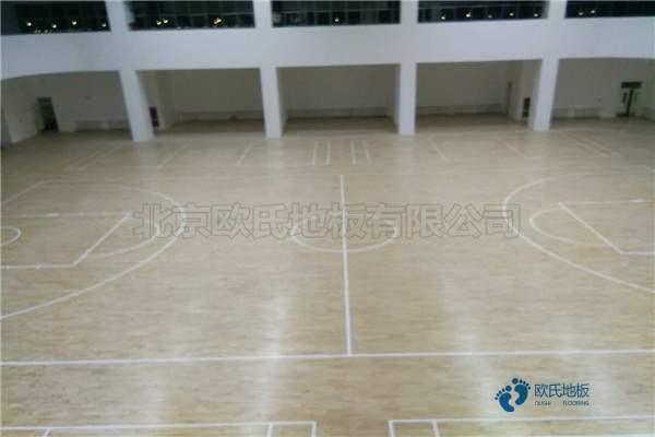 多少钱一平米?篮球运动木地板枫木