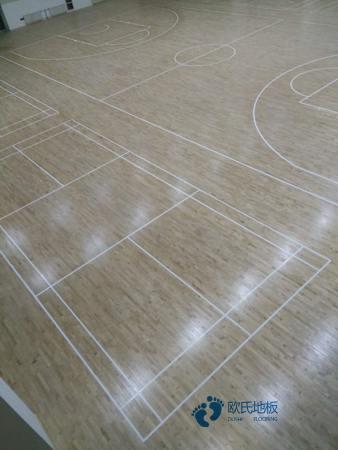 专业篮球馆地板多少钱一平方