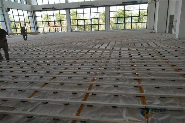 四川枫桦木体育场地板厚度