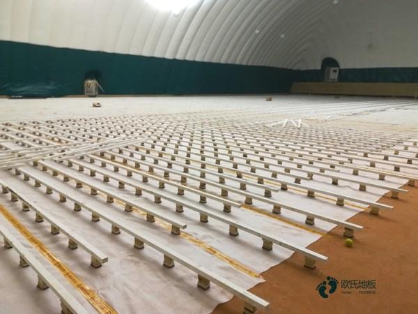 知名体育场地地板施工流程