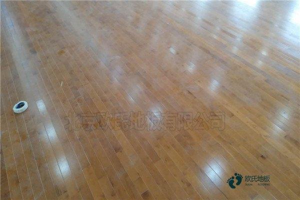 柞木篮球馆木地板市场价格表