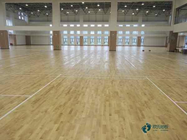 硬木企口体育木地板厚度