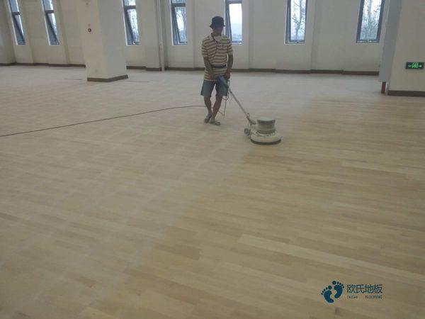 天津枫桦木运动木地板多少钱