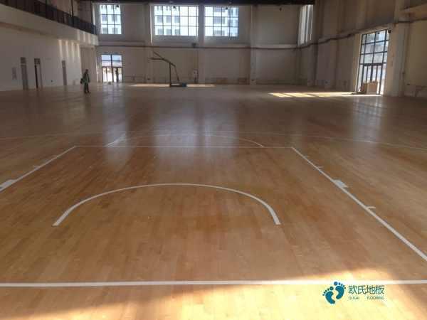 大型篮球实木运动地板厂商