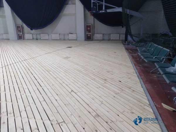 武汉企口运动木地板是多少钱
