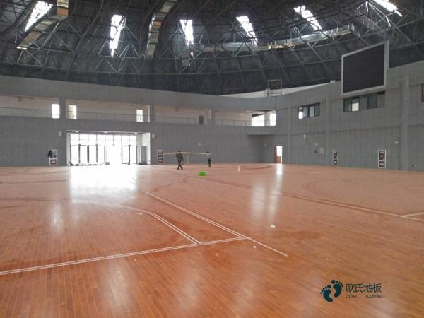 硬木企口体育场馆木地板每平米价格