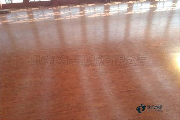 常用的体育实木地板安装