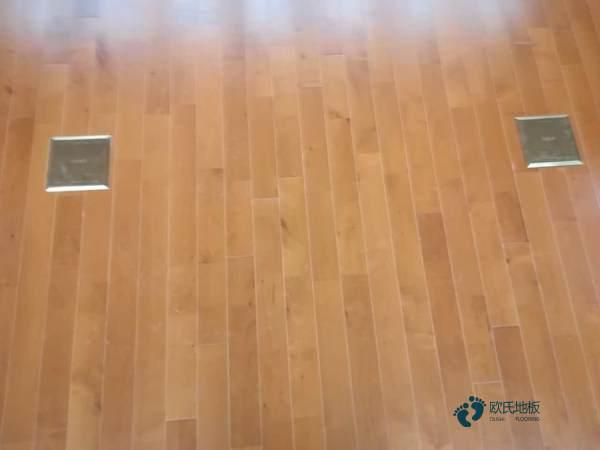 知名篮球场馆地板施工团队