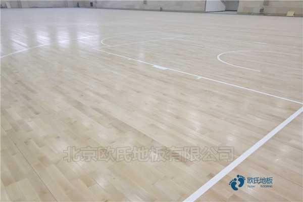 硬木企口实木运动地板施工技术方案