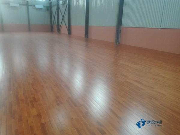 硬木企口体育馆木地板造价