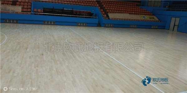 天津硬木企口篮球地板代理商