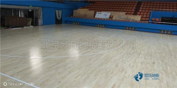 宁夏专用运动木地板怎么安装
