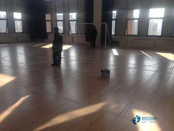 专业运动型木地板