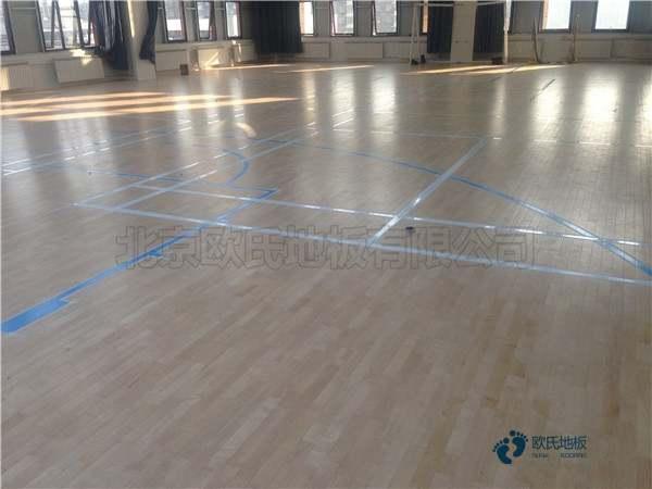 专业运动篮球木地板
