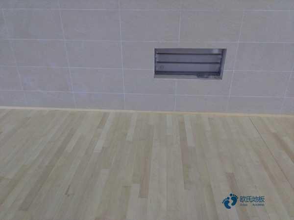 硬木企口篮球木地板施工方案