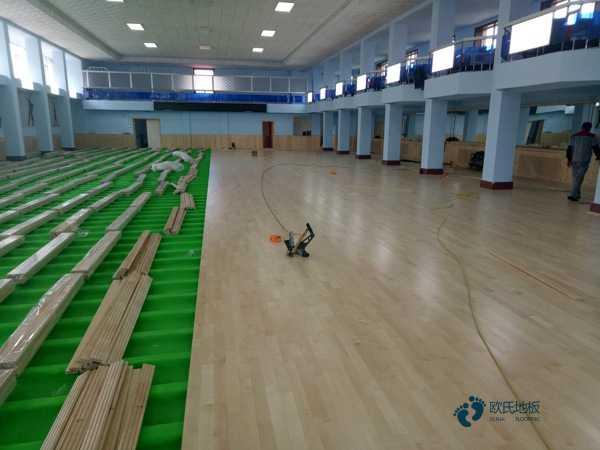 常见的体育场木地板排行1