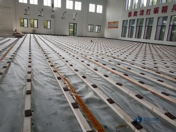 常见的体育场木地板排行2