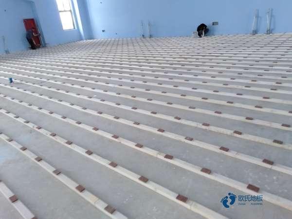 常见的体育场木地板排行3